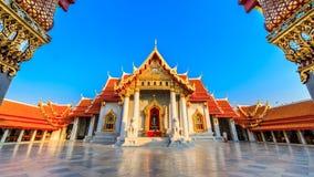 The Marble Temple, Wat Benchamabopit Dusitvanaram in Bangkok, Th Royalty Free Stock Photo