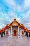 The Marble Temple, Wat Benchamabopit Dusitvanaram in Bangkok Royalty Free Stock Photo