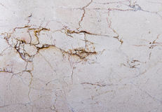 Marble texture. Detail shot of a brown marble tile texture Stock Photography