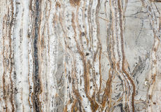 Marble texture. A white and brown marble light texture Stock Photos