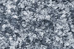 Marble texture. Blue grunge texture of marble stone Stock Photography