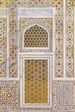 Marble Texture At Baby Taj. Beautiful inlaid marble texture on wall at Baby Taj,Agra,India stock photos