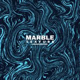 Marble texture background. Deep blue and fluid colors background. Trendy abstract paint splash. Vector Stock Photos