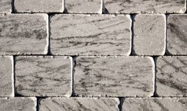 Marble texture decorative brick, wall tiles made of natural stone. Building materials. Stock Photo
