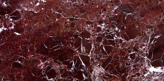 Marble texture with distinct dark cherry Royalty Free Stock Photo