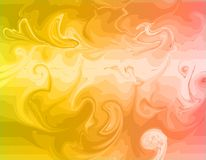 Marble texture. Vector abstract yellow red background texture Design. Abstract background Stock Photography