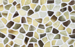 marble textures, mosaic tiles collage Royalty Free Stock Photos