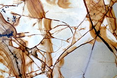 The marble textures white and brown. Part of the marble slabs Royalty Free Stock Images