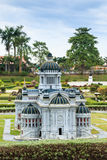 The Marble Throne hall in Mini Siam Park. Stock Photography