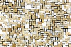 Marble tile. Tiny marble tile in an irregular pattern Stock Image