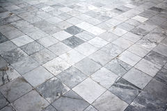 Marble tile floor background. Stock Photos