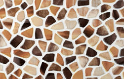 Marble tile mosaic Royalty Free Stock Image