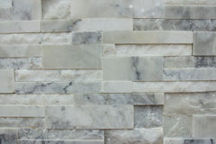 Marble tile wall texture pattern background in white grey color Stock Image