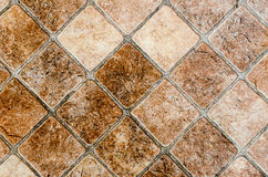 Marble tiled floor Stock Photo