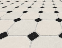 Marble tiled floor tiles Stock Image