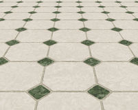 Marble tiled floor tiles Stock Photography