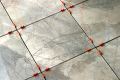 Marble Tiles 4. New marble floor setting royalty free stock image