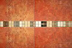Marble tiles brown Stock Photos