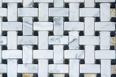 Marble tiles pattern. Kitchen back-splash. Marble tiles pattern and background royalty free stock photo