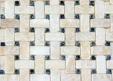 Marble tiles pattern. Kitchen back-splash. Marble tiles pattern and background royalty free stock photos