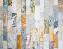Marble tiles showing texture in architecture Stock Photos