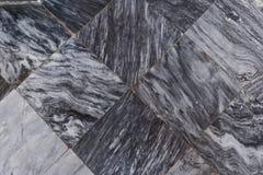 Marble tiles texture. Black&white marble tiles texture floor Royalty Free Stock Photos