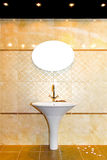 Marble tiles toilet Stock Photo