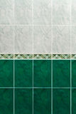 Marble tiles on the wall in bathroom Stock Image