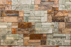 Marble wall background with marble blocks Stock Photo