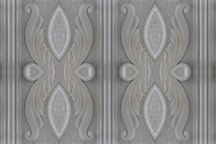 Marble wall carved close Royalty Free Stock Photography