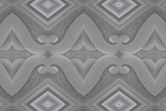 Marble wall carved close Royalty Free Stock Images