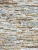 Marble wallม Pattern of White Modern stone Brick Wall Surfaced Royalty Free Stock Photo