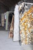 Marble warehouse Royalty Free Stock Photos
