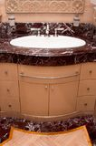 Marble Washroom Stock Photography