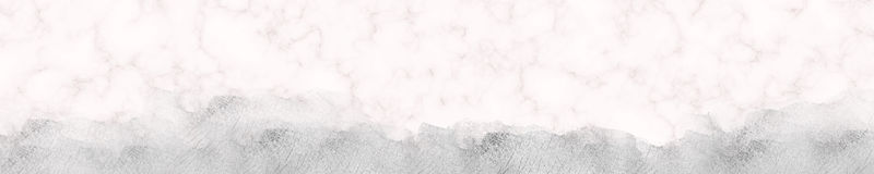 Marble Web Banner Silver Glitter Border royalty free stock photo