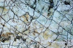 Marble white and brown - background texture Royalty Free Stock Photo