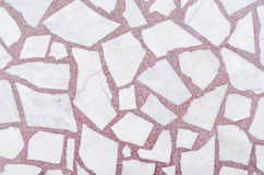 Marble white and red texture Stock Photos