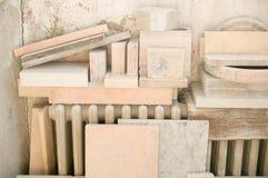 Marble workshop Stock Photos