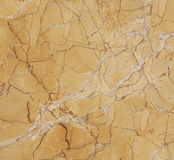 Marble yellow surface Stock Photography