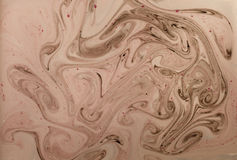 Marbled abstract background. Liquid marble pattern. Pink marble backdrop. Stock Photo