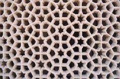 Marbled lattice_01 Royalty Free Stock Images