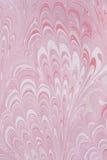 Marbled paper artwork stock image