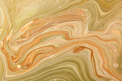 Marbled paper technique Stock Images
