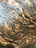 Marbled rock Royalty Free Stock Photo