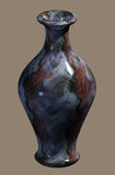 Marbled Urn. Lathed Urn made from marbled mineral Royalty Free Stock Photography