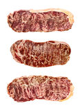 Marbled wagyu beef Royalty Free Stock Photo