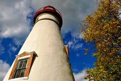 Marblehead fyr - Ohio Royaltyfri Fotografi