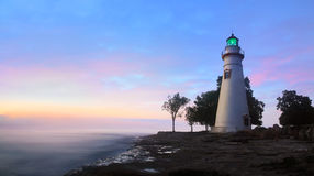 The Marblehead Lighthouse Stock Image