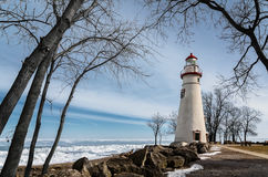 Marblehead Lighthouse Royalty Free Stock Images