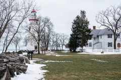 Marblehead Lighthouse Royalty Free Stock Image